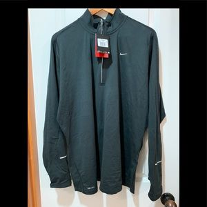 Nike Black Half Zip